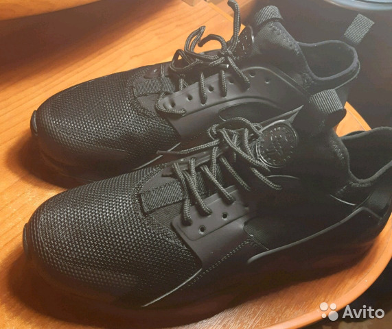bfe92c49a580 Черные кроссовки Nike Air Huarache run ultra 81968   Festima.Ru ...