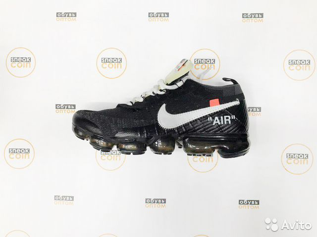 e40ed91a Мужские кроссовки Nike Vapormax Off White оптом | Festima.Ru ...