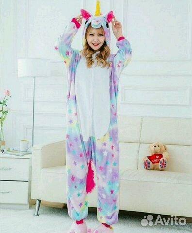 Пижама Кигуруми единорог  abdbfd3f548b3