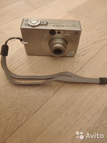 Фотоаппарат Canon PC 1035 Digital ixus 2— фотография №1