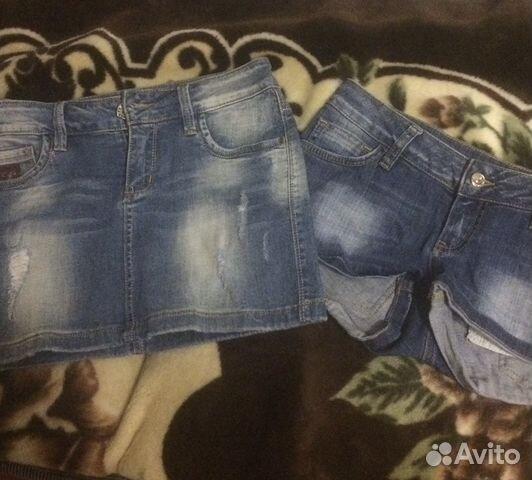 Юбка и шорты джинсовые 89648389880 купить 2