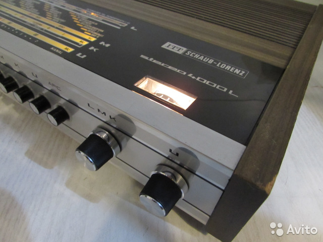 ITT(Shaub-Lorenz) Stereo 4000L Стерео Ресивер 88129885308 купить 6