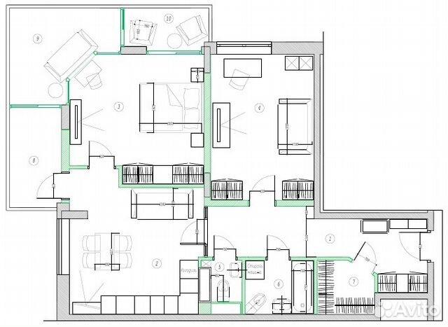 Продается двухкомнатная квартира за 16 900 000 рублей. г Москва, поселение Московский, ул Татьянин Парк, д 16 к 1.