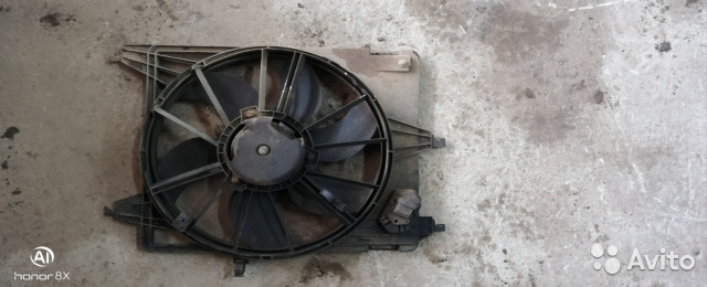 89226688886 Вентилятор радиатора (Renault Logan)