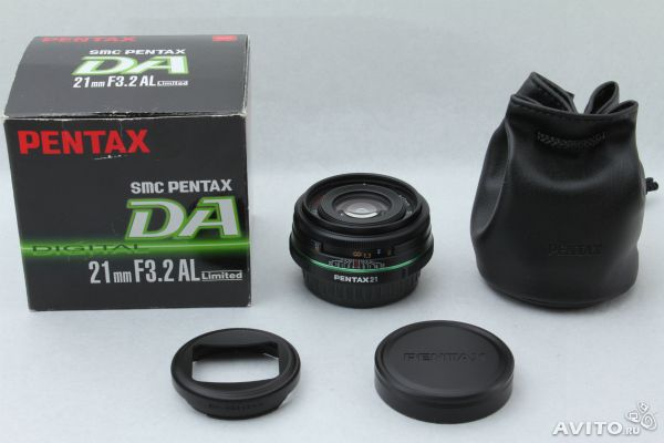 Pentax DA 21mm F3.2 AL Limited объектив— фотография №1