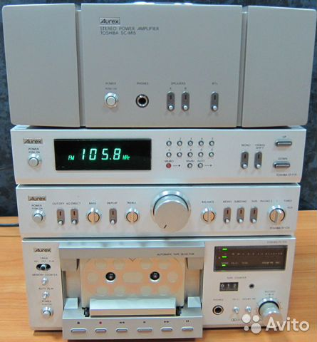 Aurex-toshiba SET-15 series-220 вольт— фотография №1