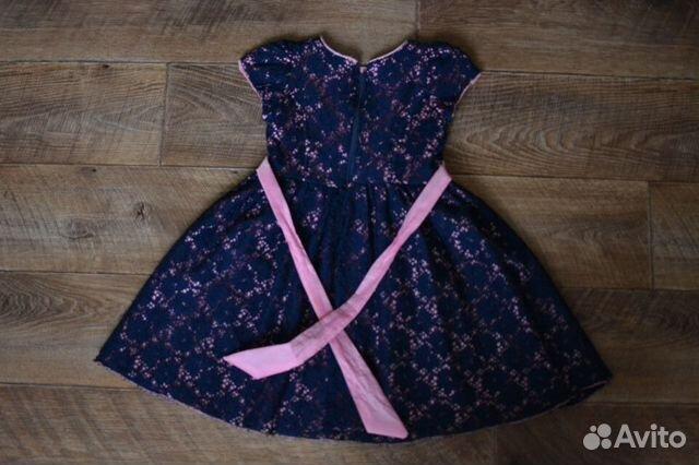 Нарядное платье для девочки 5-6 лет  89059618729 купить 4