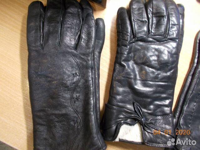 Перчатки кожаные  89052485517 купить 5