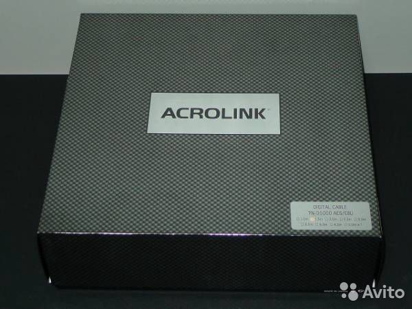 Acrolink 7N-D5000 AES/EBU 1.5 m buy 3