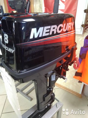 Мотор mercury 8 MH 89056843828 купить 1