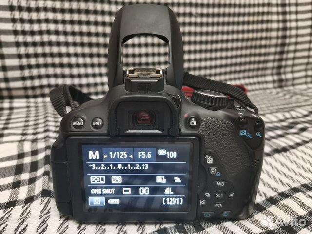 Зеркальный фотоаппарат Canon EOS 650d kit 18-55 89206166645 купить 5