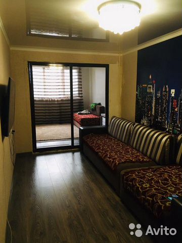 1-room apartment, 38 m2, 2/5 floor. 89283994772 buy 1