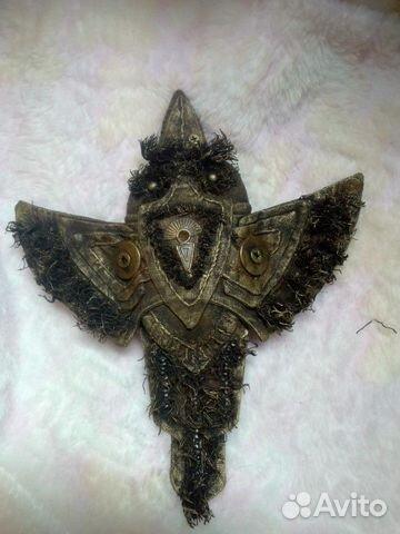 Металлическая ворона