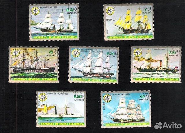 Почтовые марки Гвинеи Экваториальной 89275328672 купить 1