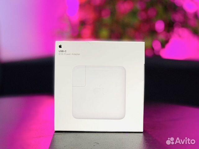 Зарядное устройство Apple USB-С 61 Вт Box  89180229675 купить 1