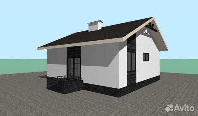 Дом 81 м² на участке 6 сот.