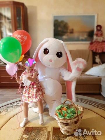 Продам ростовую куклу Зайка-поздравляйка  89093418791 купить 4
