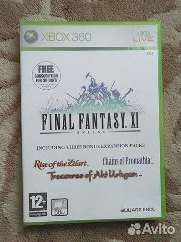 Final Fantasy XI Online для xbox 360  89028143516 купить 1