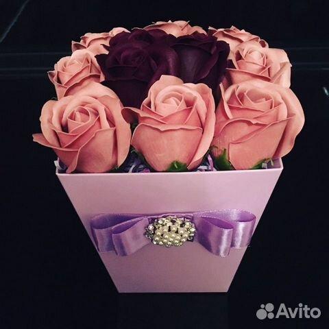 Мыльные розы  купить 1