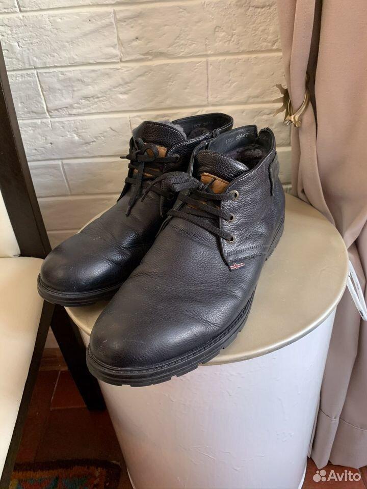 Ботинки мужские зимние 47 р  89224888908 купить 1