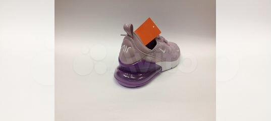 e10bd6d1 Кроссовки Nike Air Max 270 женские фиолетовые сире купить в Москве на Avito  — Объявления на сайте Авито