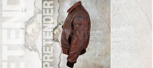 bd403933dc3c Куртка мужская из стираной кожи буйвола