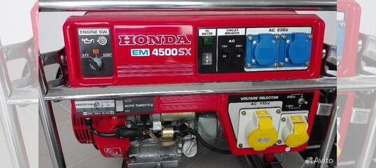 генератор honda em4500sx