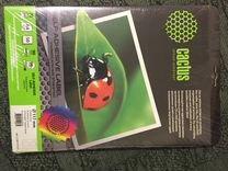 Самоклеящиеся этикетка фотобумага Cactus CD DVD
