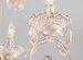 Подвесная люстра Eurosvet 10009/6 золото с белым