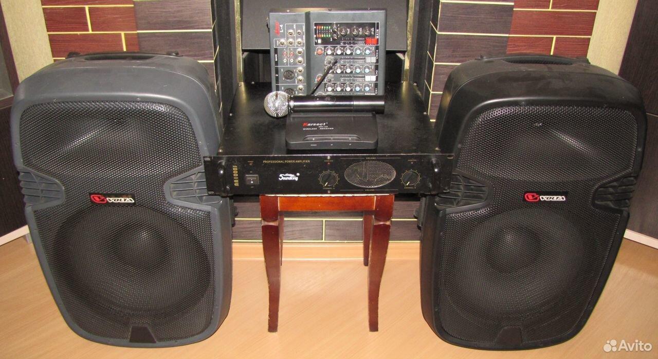 Колонки Volta 700W D15 усилитель микшер микрофон  89128899109 купить 9