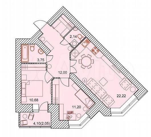 купить квартиру проспект Труда 61