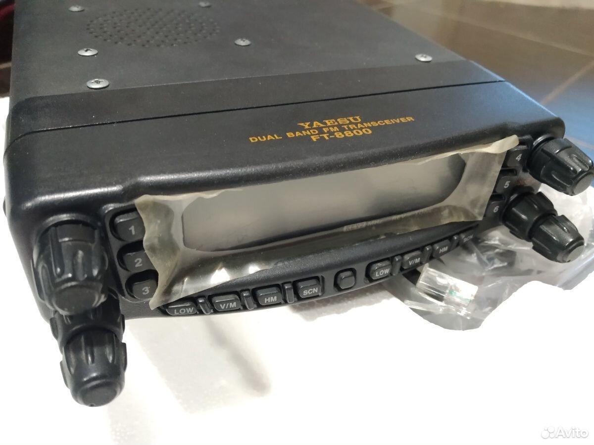 Автомобильная радиостанция yaesu ft-8800 с выносом  89089930182 купить 1