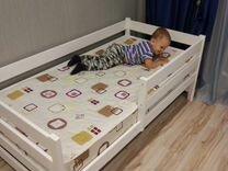 Детская кровать Манеж из массива