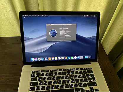 """Macbook Pro 15"""" Mid 2015 mjlq2RU/A i7,256,16"""
