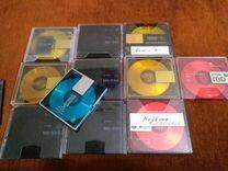 Минидиски с музыкой Sony,TDK (11штук)