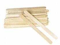 Шпатели деревянные узкие 100шт