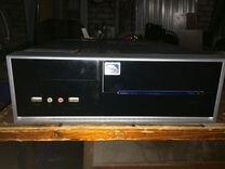 Компьютер офисный Intel Atom, 1Гб, 250Гб