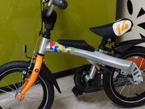 Беговел-велосипед Rennrad 2в1 14