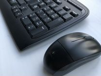 Мышь и клавиатура беспроводные Logitech