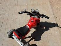 Велесипед трехколесный мотоцыкл