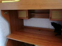 Кровать+шкаф+стол пр-во Лазурит