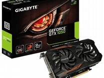 Видеокарта Gigabyte GeForce GTX 1050. На гарантии