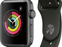 Apple watch series 3 42mm space gray