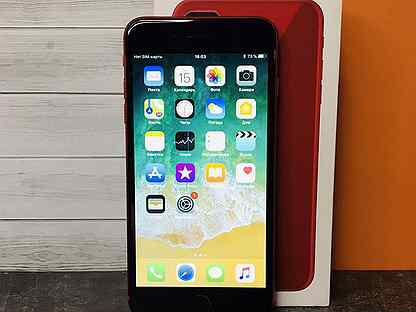 64GB iPhone 8 Plus Red / Ростест