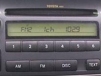 Магнитола штатная Тойота Corolla 2002-2006 гг
