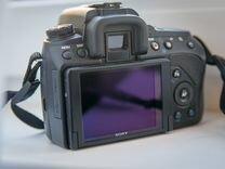 Sony Alpha dslr-A580 body