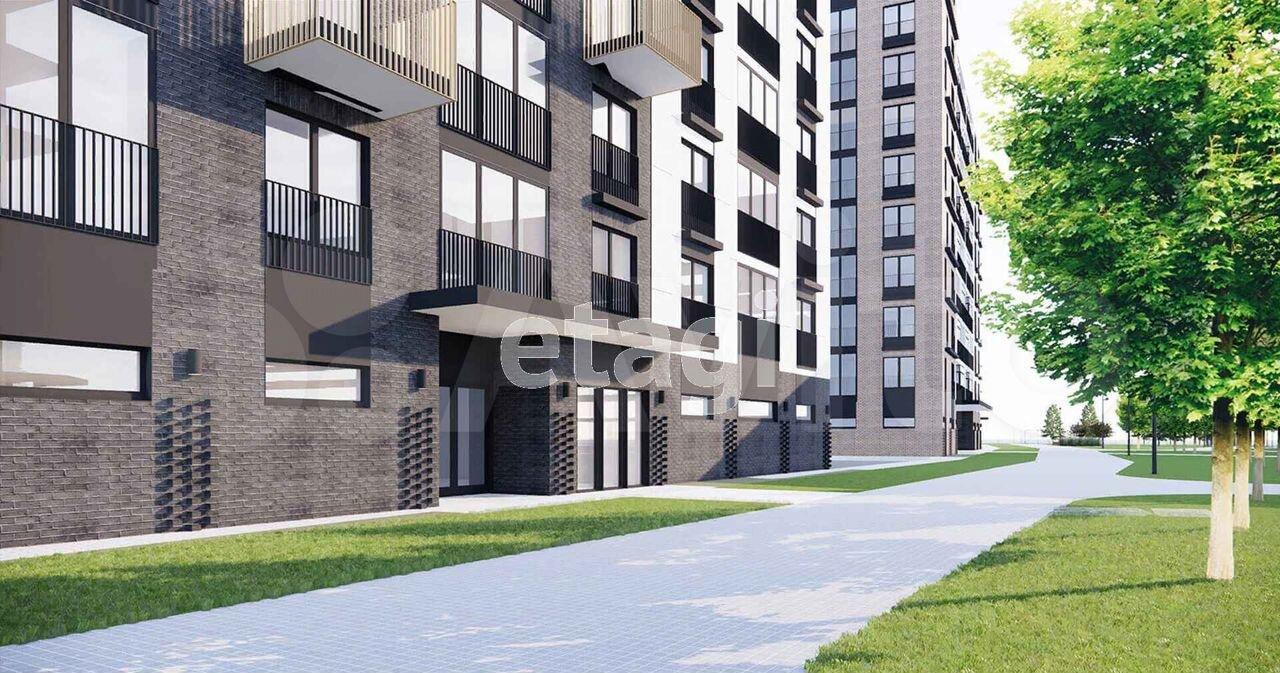 2-room apartment, 48.4 m2, 1/9 et.