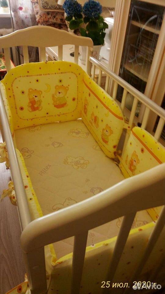 Детская кроватка два положения матрас ортопедическ  89243932969 купить 6