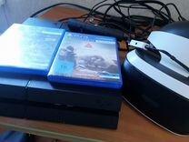 Продам PS4 + VR оборудование