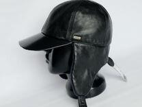 """Dorofey"" кожаная кепка, 55 размер"